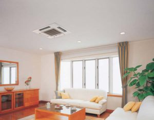 ceiling cassette heat pump