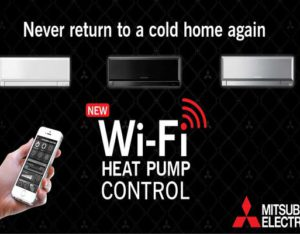 Mitsubishi Electric Wi-Fi Heat Pump Control