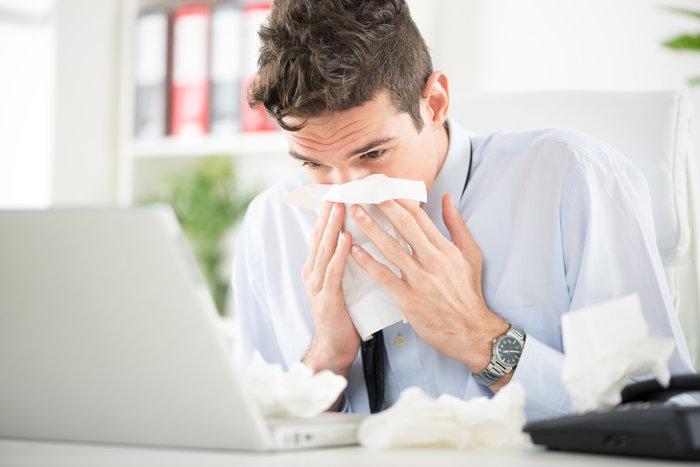 Working when sick