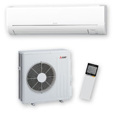 GL 710 high wall mounted heat pump