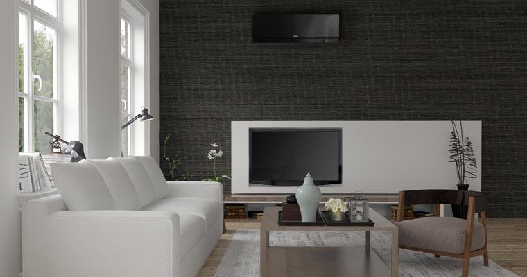 designer E25F high wall heat pump