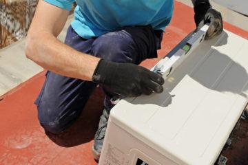 outdoor heat pump unit