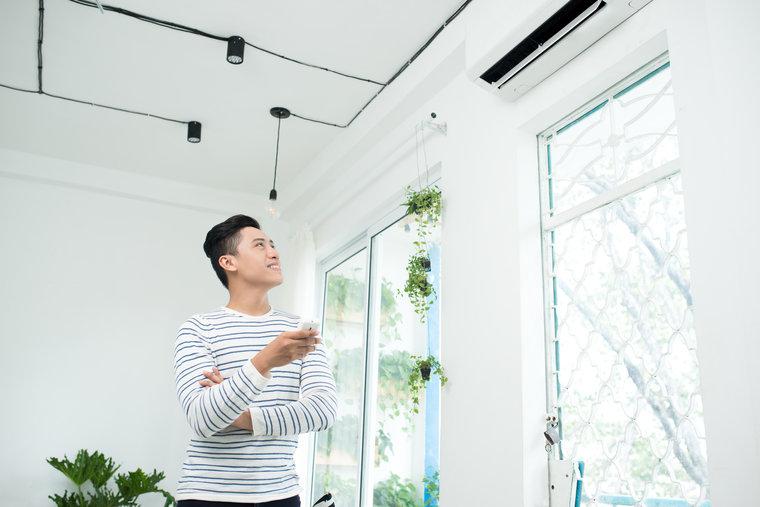 HyperCore high wall heat pump