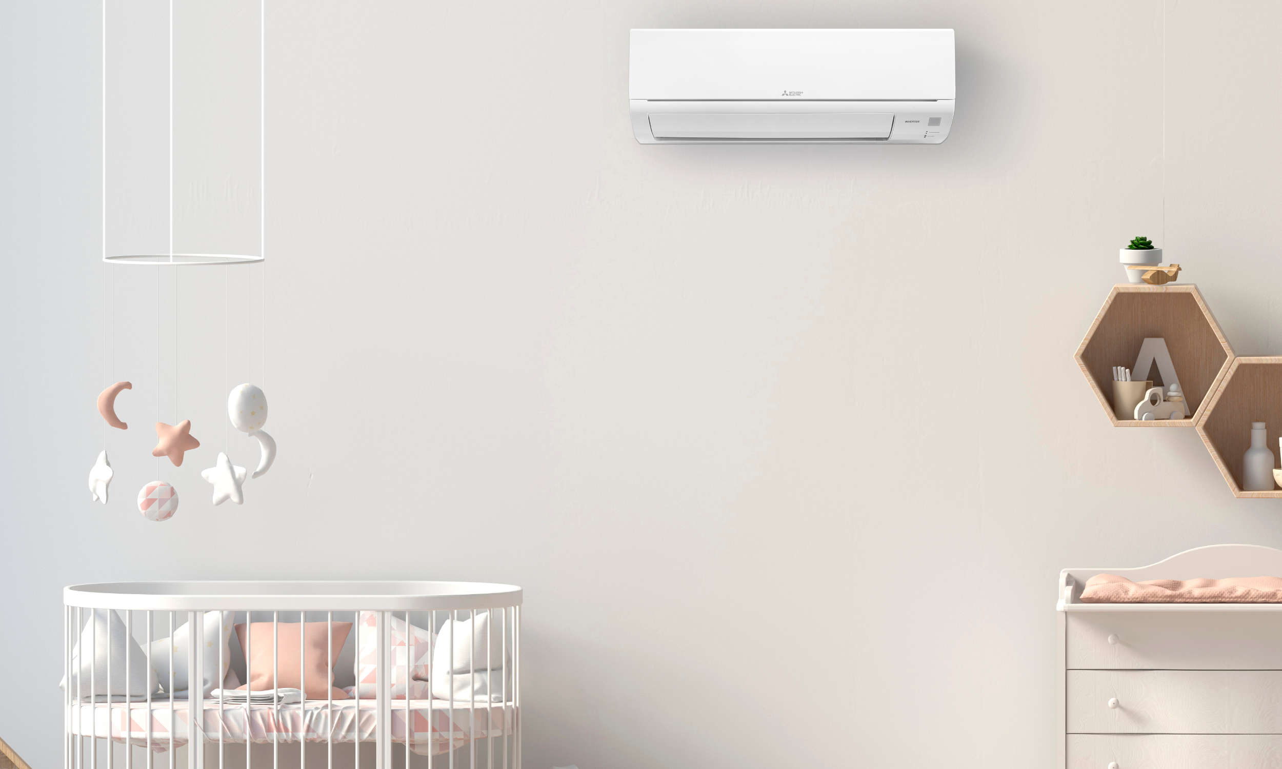 Mitsubishi EcoCore AP - new Zealand's quietest heat pumps - heat and cool Auckland
