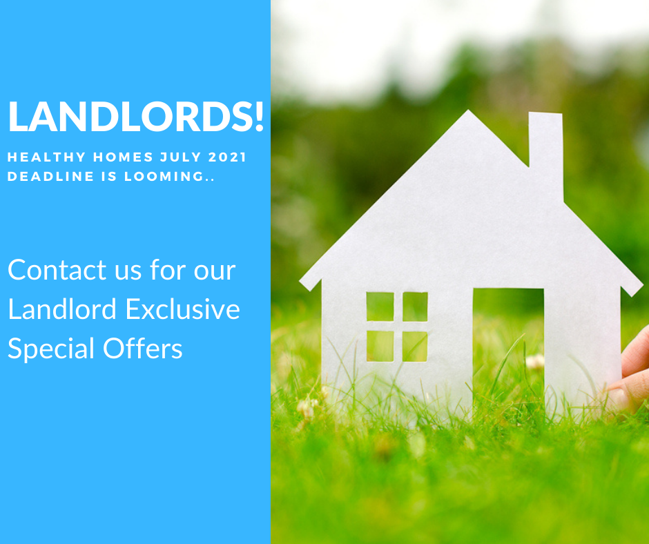 healthy homes special offers for landlords