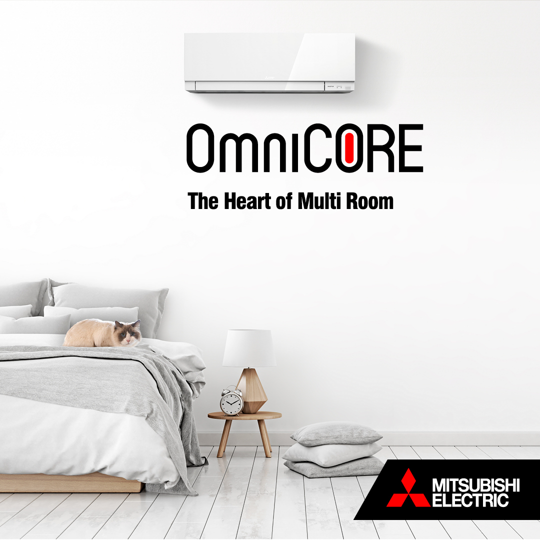 Mitsubishi Omnicore Heating systems for NZ homes