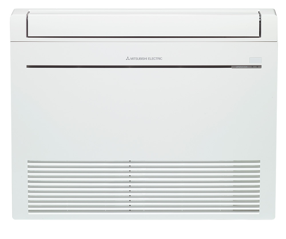 Mitsubishi Rapid Heat Floor Console - heating for your home from Heat and Cool in Auckland